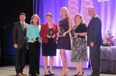 Sheila Kloefkorn Honored at Athena Awards Luncheon