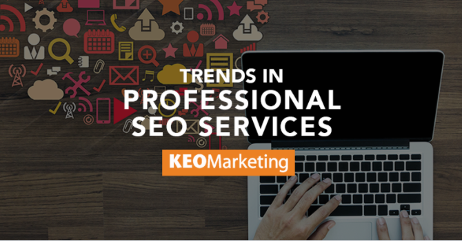 Trends in Professional SEO Services