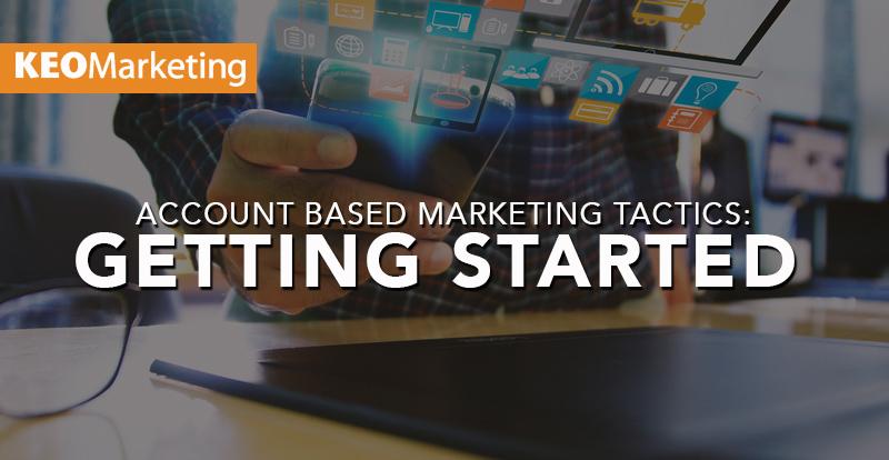 account based marketing tactics