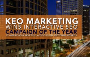 AMA-Interactive SEO Award