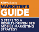 New KEO Marketing Guide Provides Valuable Framework for B2B Mobile Marketing Success