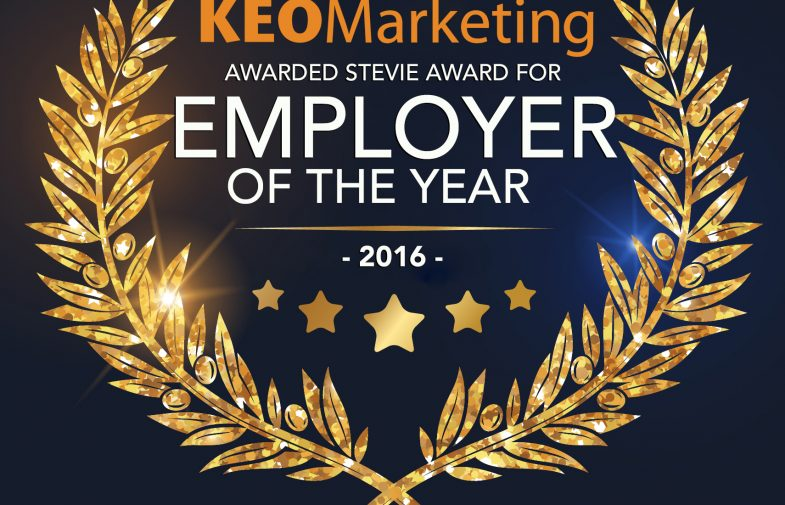 KEO Marketing Wins Employer of the Year Award by the American Business Awards