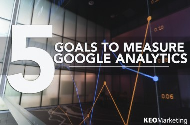 5 Goals for B2B Brands to Measure in Google Analytics