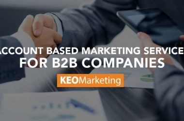 Account Based Marketing Services for B2B Companies