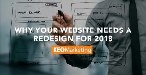 why your website needs a redesign for 2018