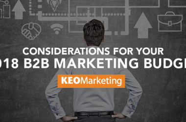 Building a B2B Marketing Budget