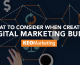 Considerations for Creating a Digital Marketing Budget