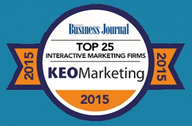 KEO Marketing Ranks in Top 25 of Phoenix Business Journal's Interactive Marketing Firms List