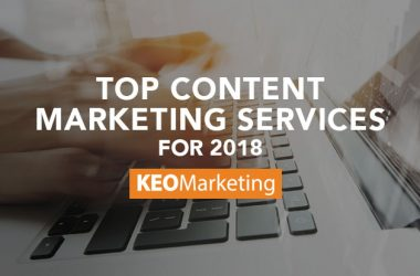 Top Content Marketing Services for 2018