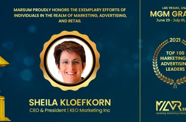 Sheila Kloefkorn, President and CEO of KEO Marketing Named Top 100 Marketing Leader at MARsum