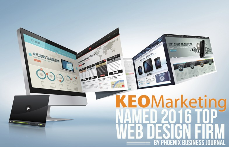 KEO Marketing Named 2016 Top Web Design Firm by Phoenix Business Journal