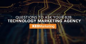 B2B technology marketing agency