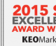 Business Marketing Awards Association Honors KEO Marketing for Search Engine Optimization in its 2015 B2 Awards