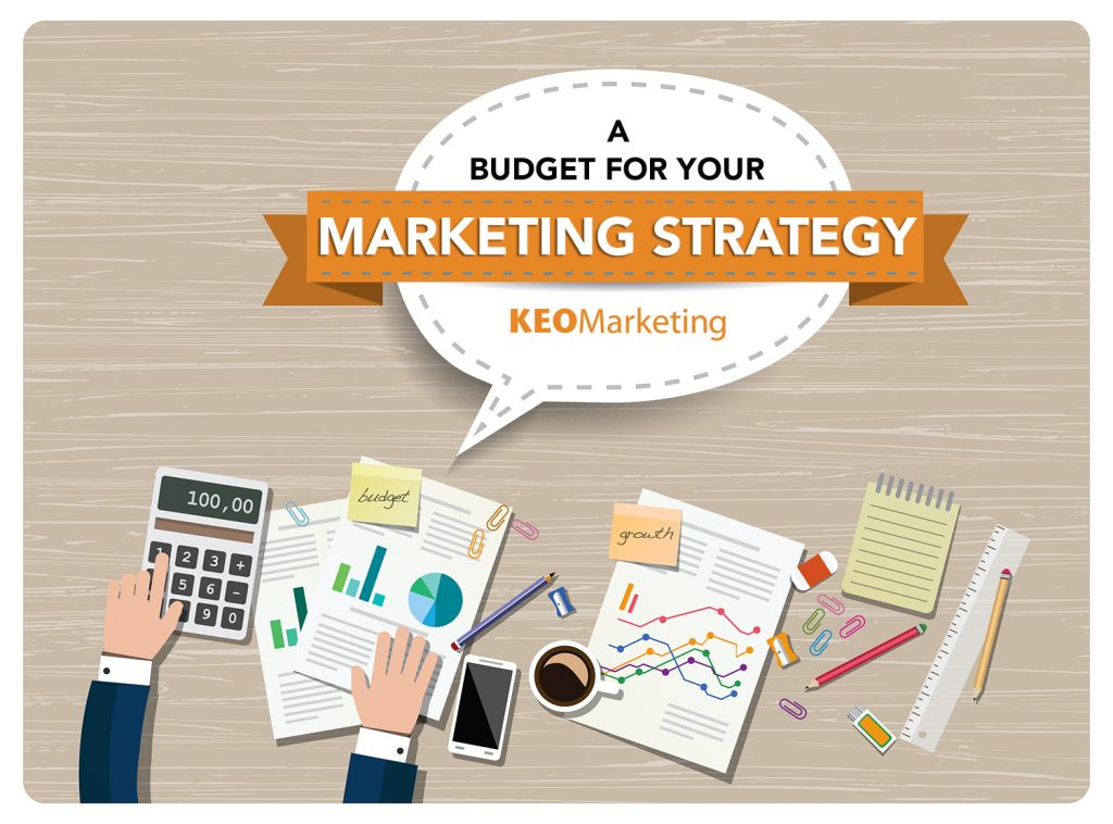 Budget for your marketing strategy