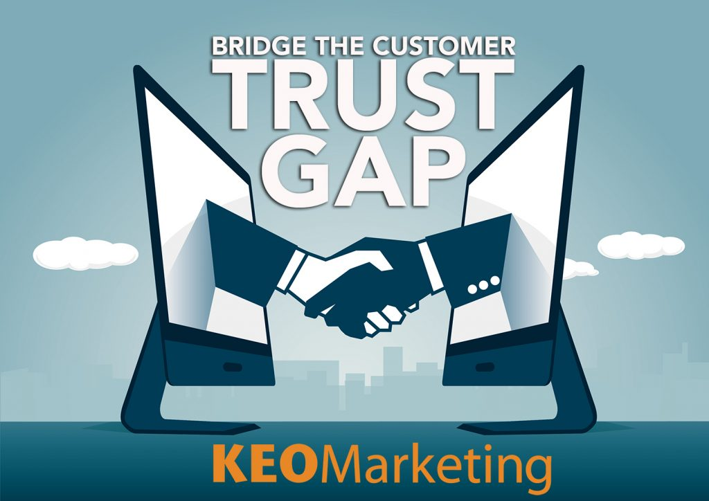 customer trust gap
