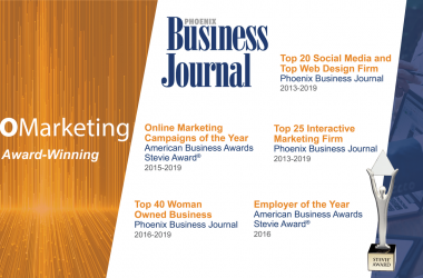 B2B Marketing Agency, KEO Marketing, Recognized as a Top Social Media Marketing & Web Design Firm by Phoenix Business Journal