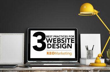Three Best Practices for Website Design