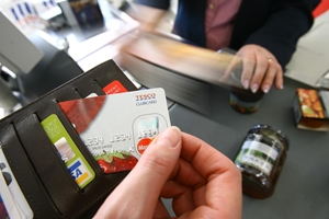 B2B loyalty programs are easy to implement using cards such as these.