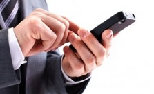 Mobile marketing may improve a B2B's online presence.