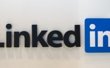 LinkedIn is the most popular social media site among top business executives.