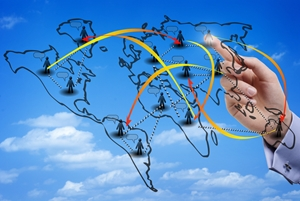 Connecting with other businesses around the world requires localization.