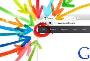 Google Plus pages are indexed similarly to Web pages.