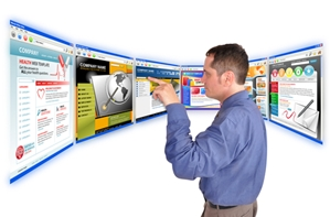 Now is the best time to start a company website or blog.