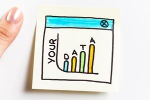 Social media metrics image.