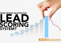 lead scoring system