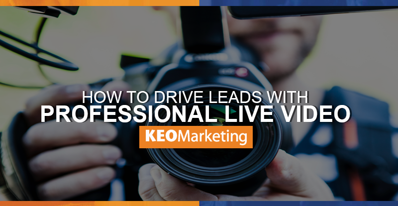 driving leads with professional live video