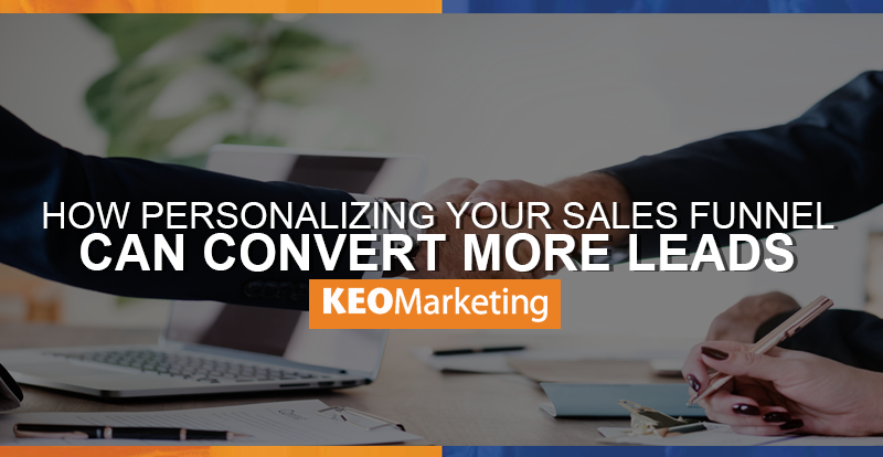 personalizing your sales funnel