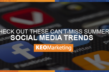 Top 5 Summer Social Media Trends